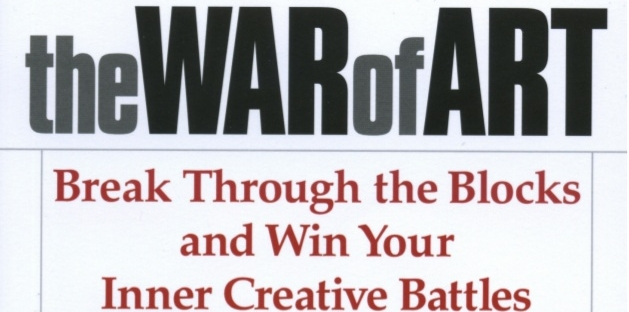 "alt=""book cover for the war of art"